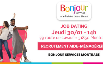 Montrabé : JOB DATING – Postes d'aides-ménagères/ers à pourvoir !