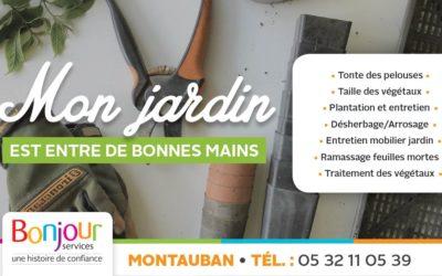 Montauban : Bonjour Services intervient dans votre jardin !