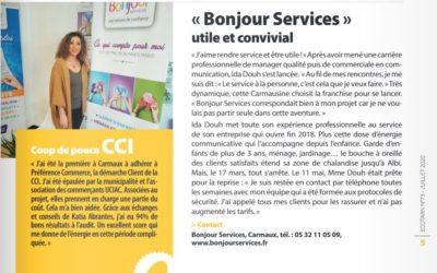 Carmaux : Parution dans l'Écotarn (édition juillet 2020)