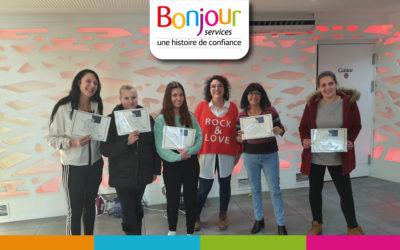 Saint-Marcellin : Double formation pour l'équipe de Bonjour Services à Saint-Marcellin