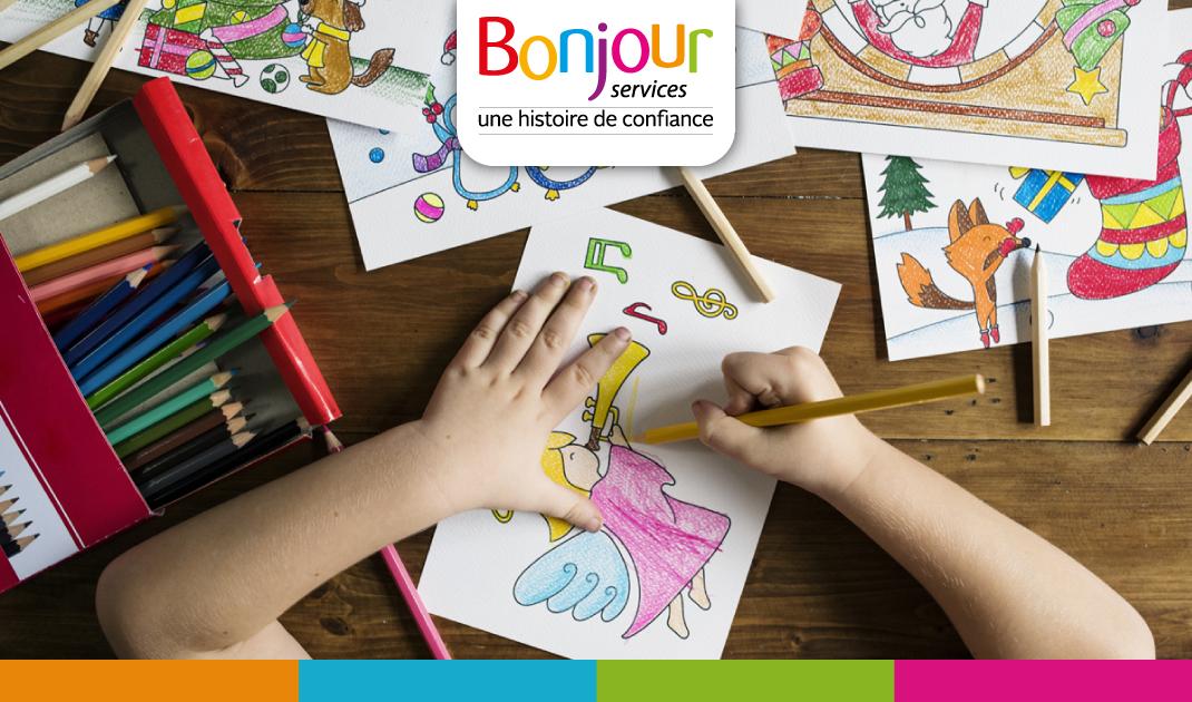 Activité Garde d'enfants : Journée mondiale du coloriage